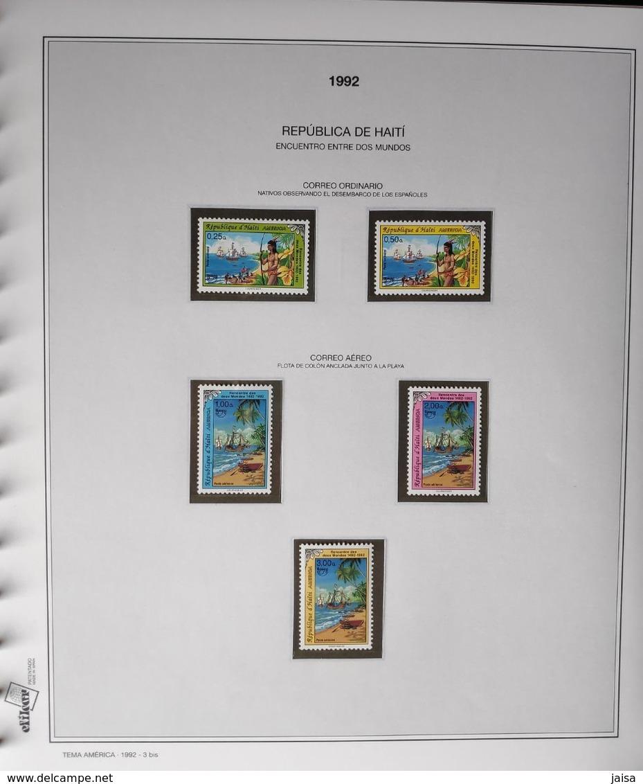 Ámerica-UPAEP.Años 1989-1997., - Colecciones (en álbumes)