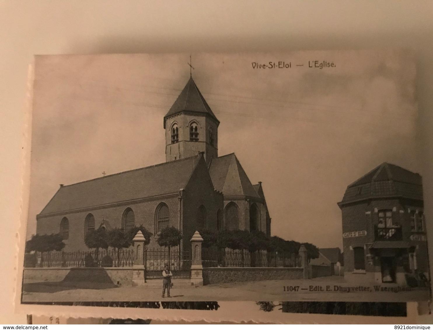 Sint - Eloois - Vijve Vive St Eloi L' église Edit Dhuyvetter Waereghem - Waregem