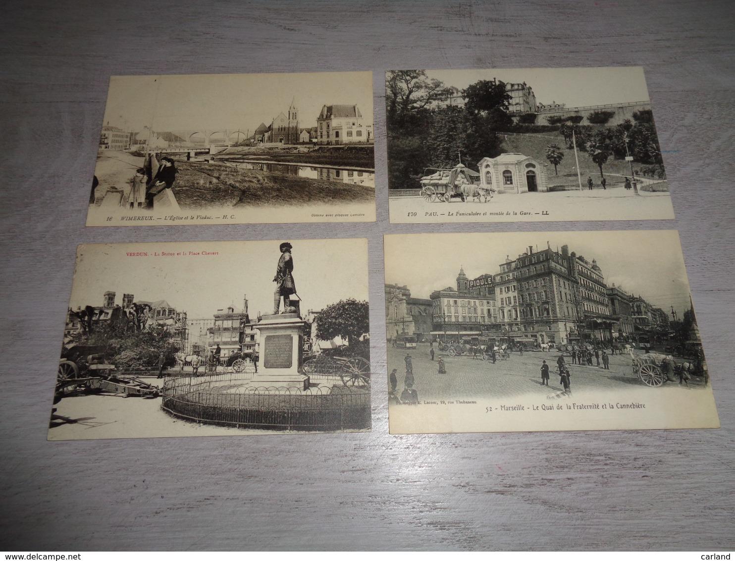 Beau Lot De 20 Cartes Postales De France      Mooi Lot Van 20 Postkaarten Van Frankrijk    - 20 Scans - Cartes Postales