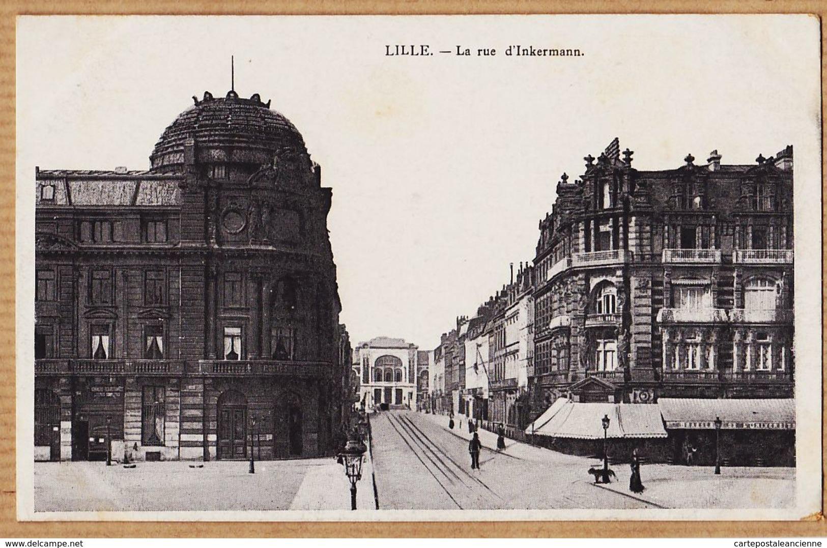 X59134 Etat Parfait -  LILLE Nord La Rue D' INKERMANN 1910s - Lille