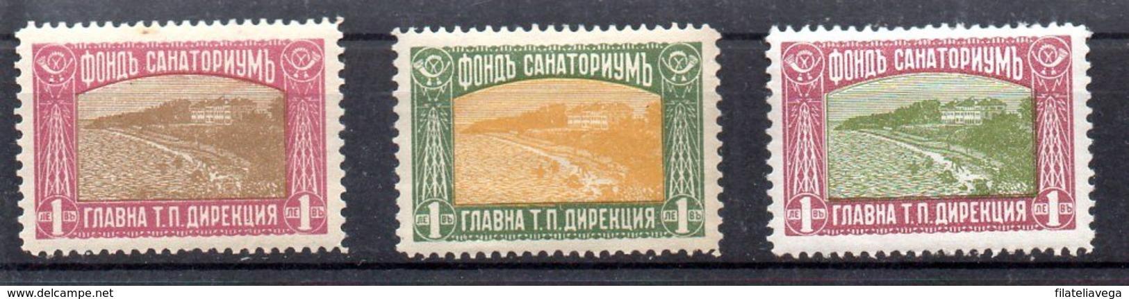 Serie De Bulgaria Expreso Nº Yvert 10/12 * Valor Catálogo 20.0€ - Sellos De Urgencia