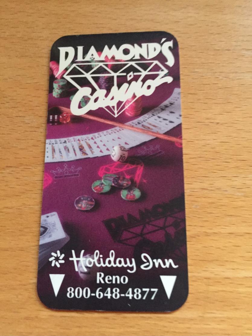Hotelkarte Room Key Keycard Clef De Hotel Tarjeta Hotel  HOLIDAY INN RENO DIAMOND`S CASINO - Telefonkarten