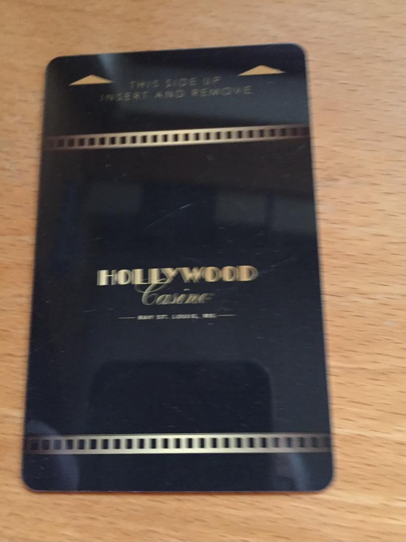 Hotelkarte Room Key Keycard Clef De Hotel Tarjeta Hotel  HOLLYWOOD CASINO BAY ST. LOUIS - Télécartes
