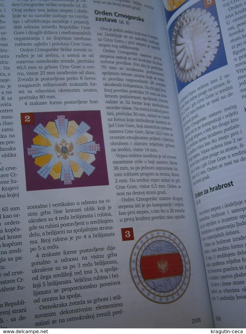 2006 Serbia Coin Numismatic Magazine Yugoslavia Medal Order Banknote Money ANTIQUE MONTENEGRO KING NIKOLA ST GEORGE - Sonstige Sprachen