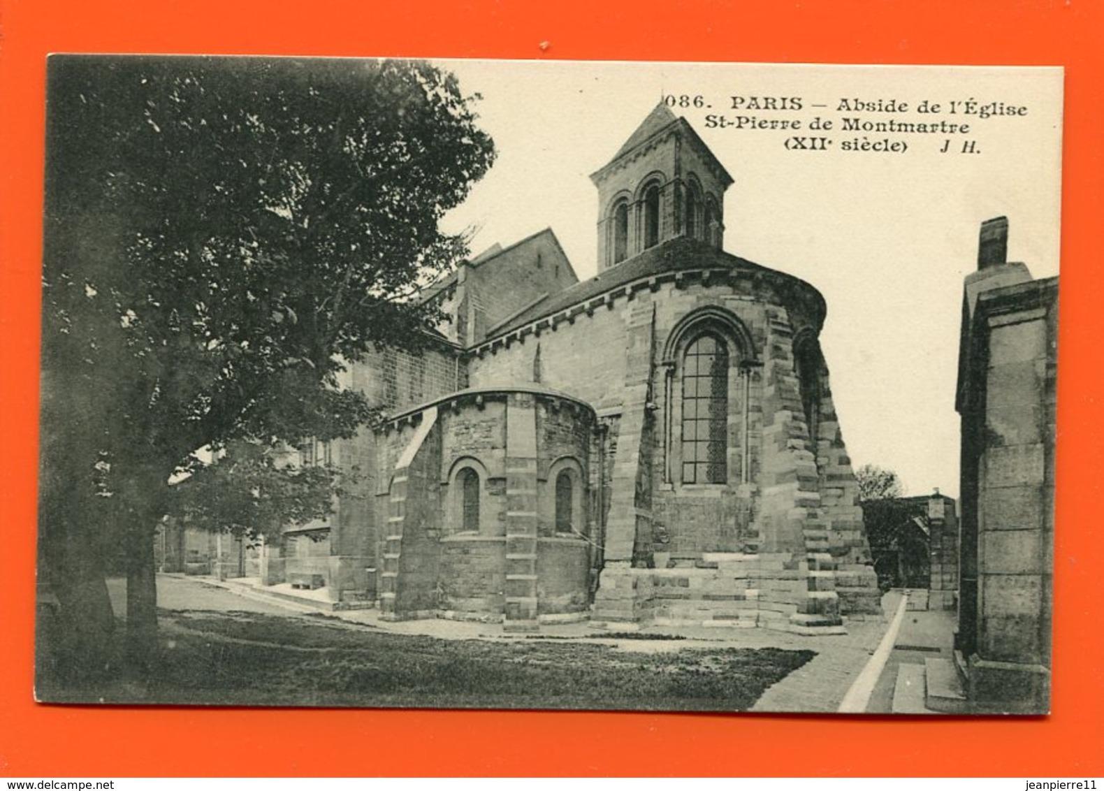 ET/211  PARIS ABSIDE ST PIERRE DE MONTMARTRE - Autres Monuments, édifices