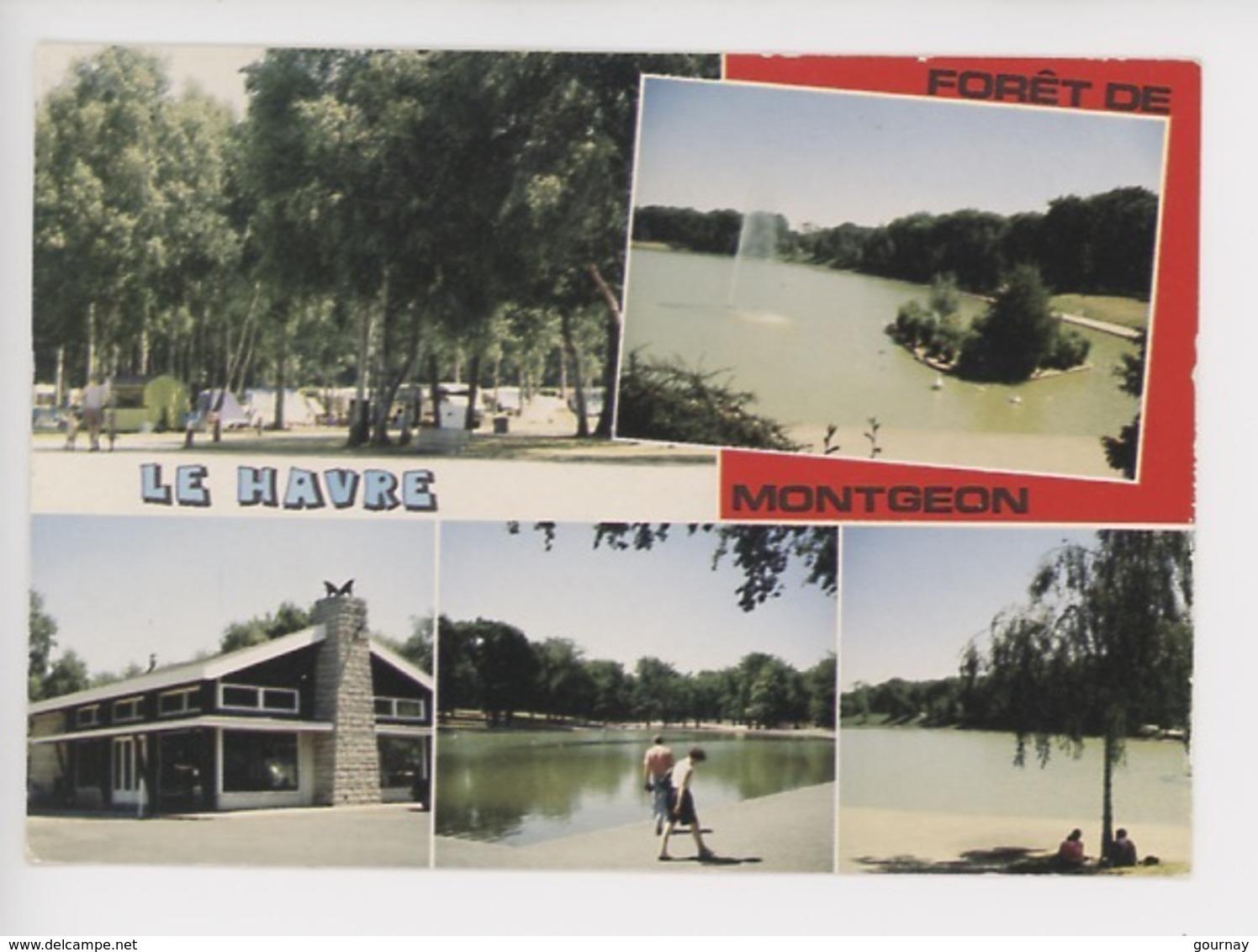 Le Havre Forêt De Montgeon - Multivues (le Camping Municipal Et Le Plan D'eau) - Autres