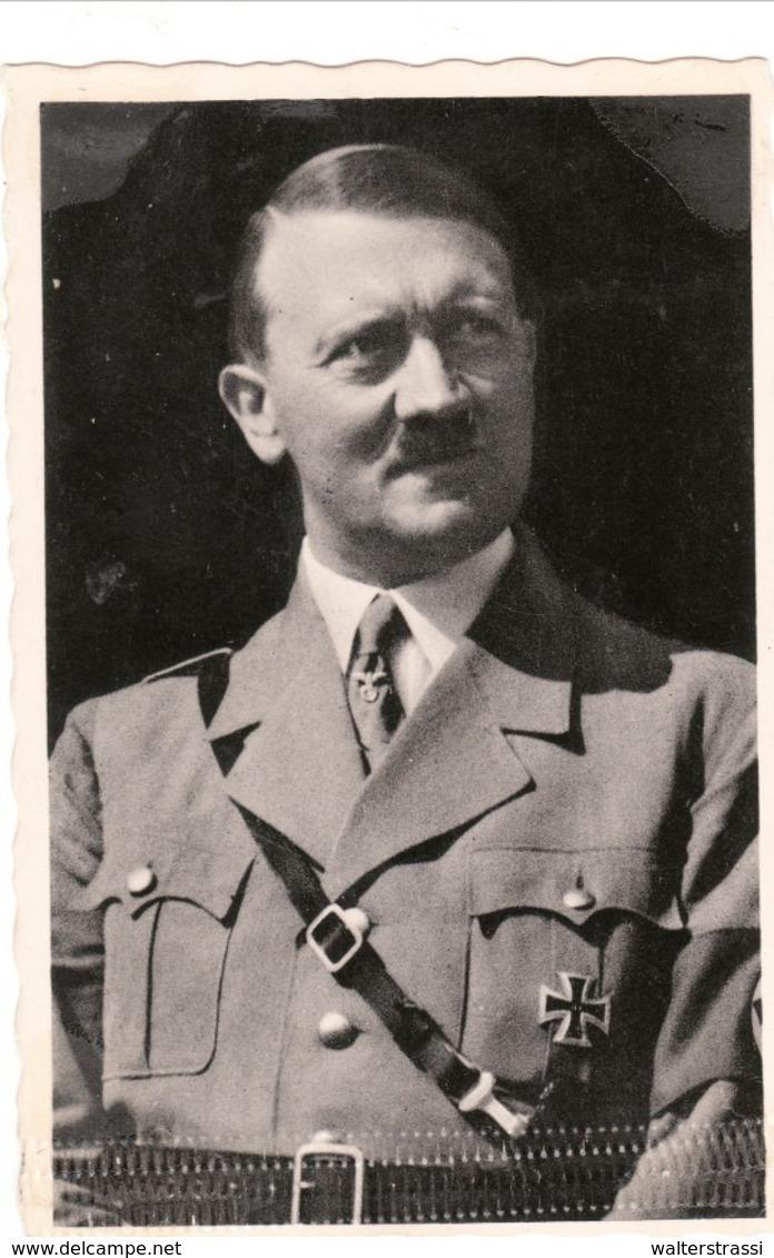 """Propaganda Karte,ADOLF HITLER , Stempel """" Ein Volk... """" Wien - Weltkrieg 1939-45"""