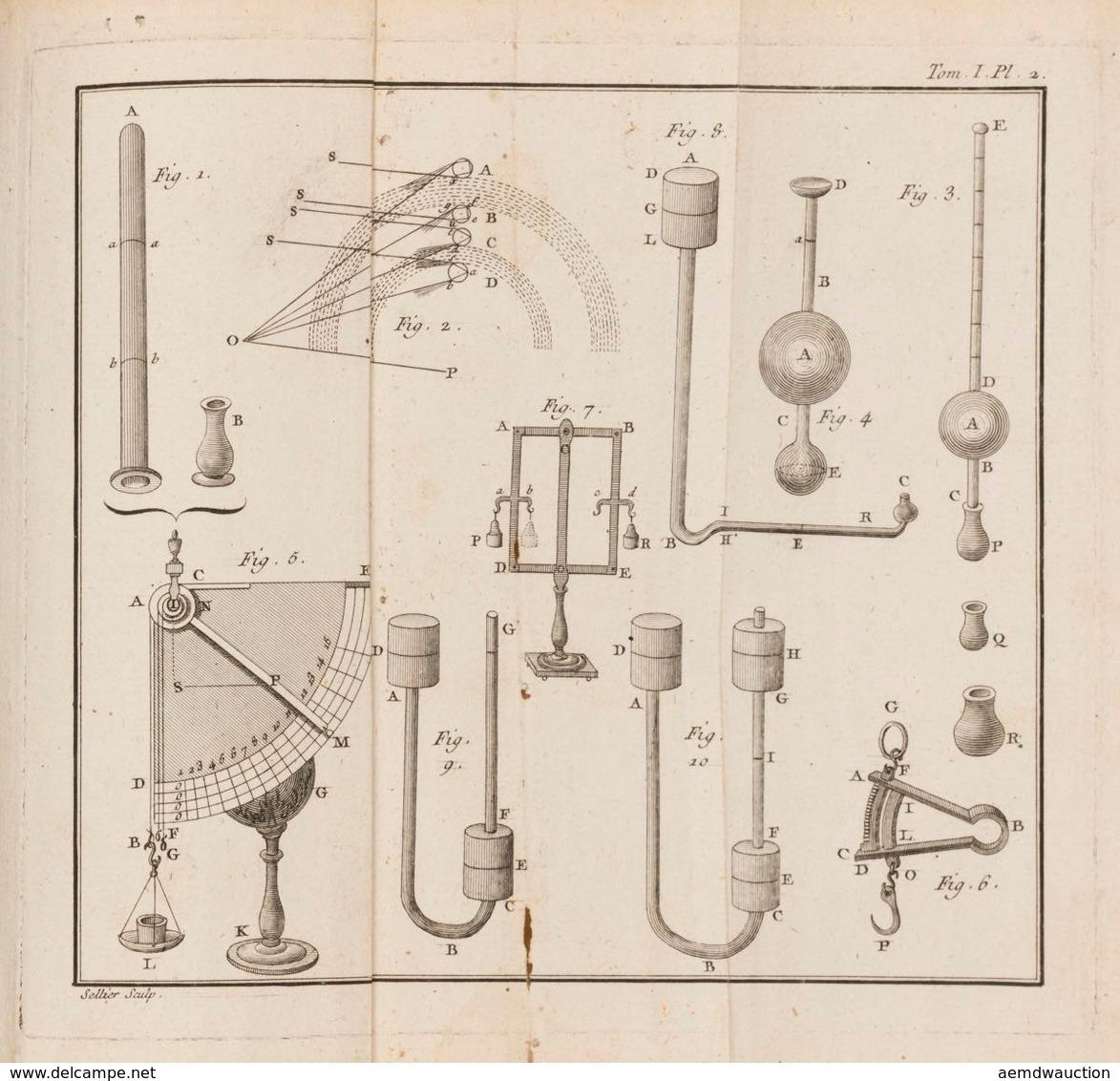 Joseph Aignan SIGAUD DE LA FOND - Dictionnaire De Physi - Libros, Revistas, Cómics