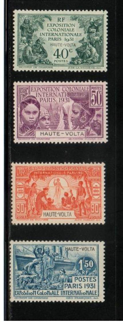 HAUTE VOLTA    NEUF Sans Charnière  N° 66 à 69     N**  1931    S/C   Cte:  27,30  € - Ungebraucht