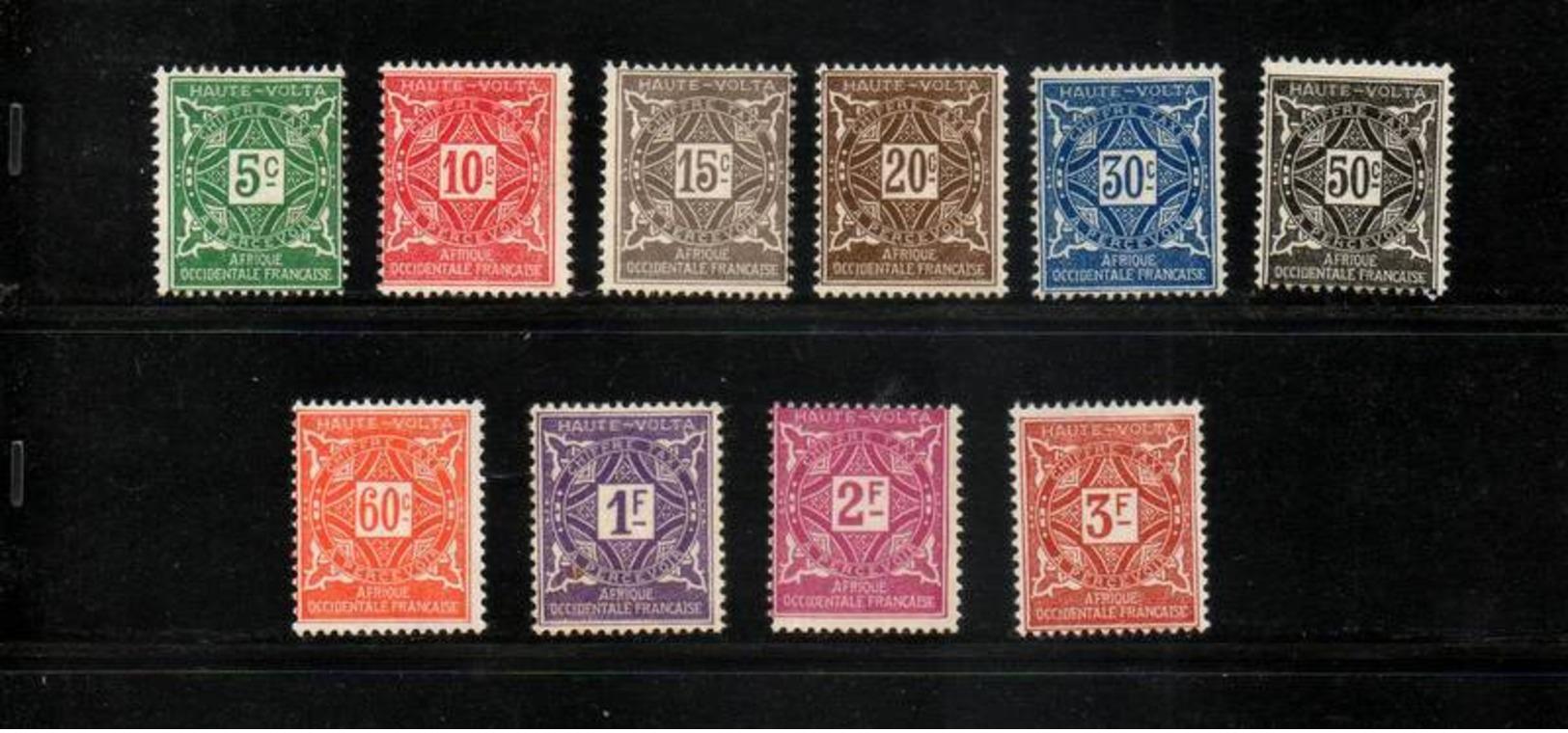 HAUTE VOLTA    NEUF Sans Charnière  N°  11 à 20      N**  1928    S/C   Cte:  71,50  € - Portomarken