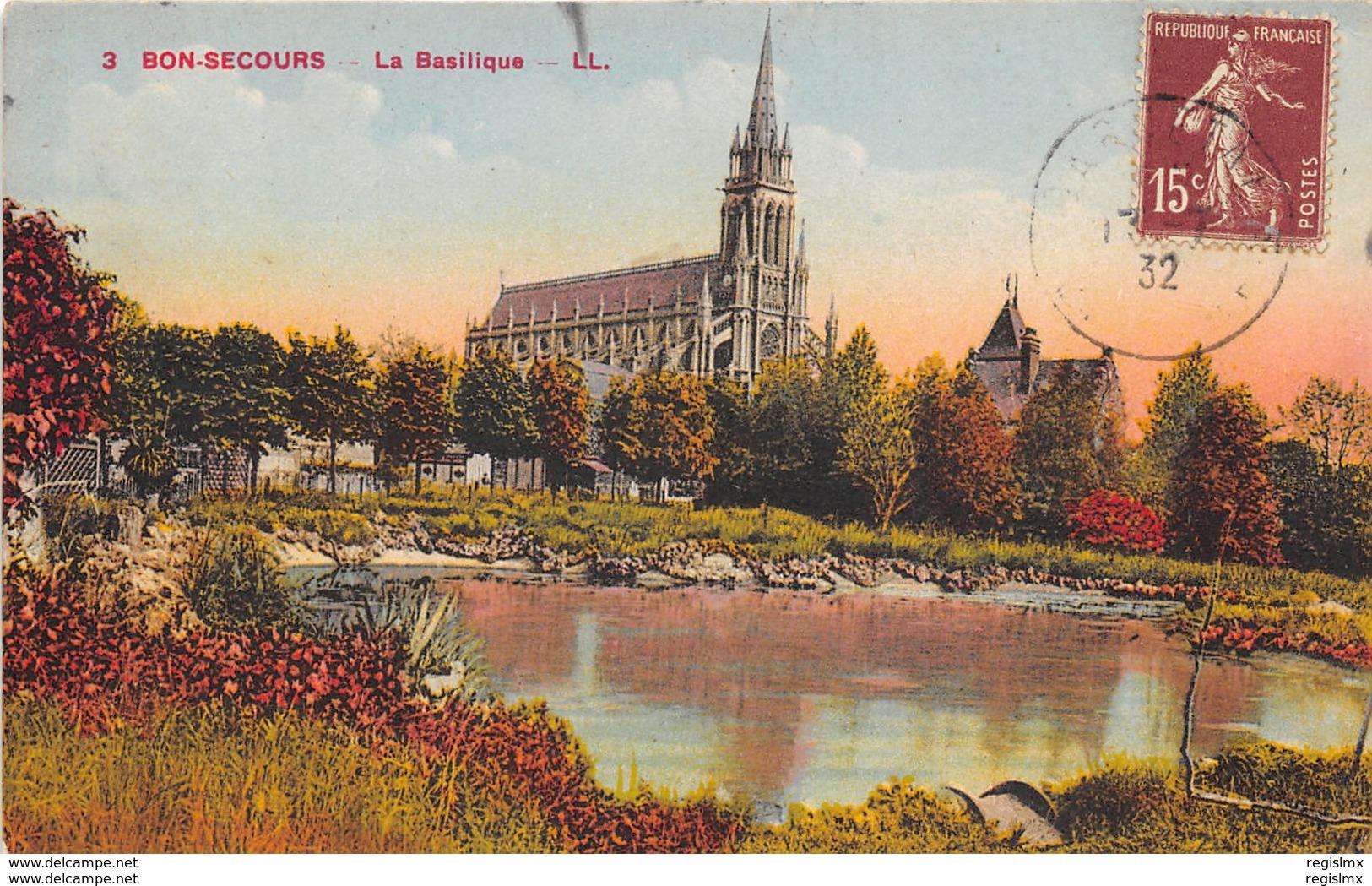 76-BONSECOURS-N°162-D/0169 - Bonsecours