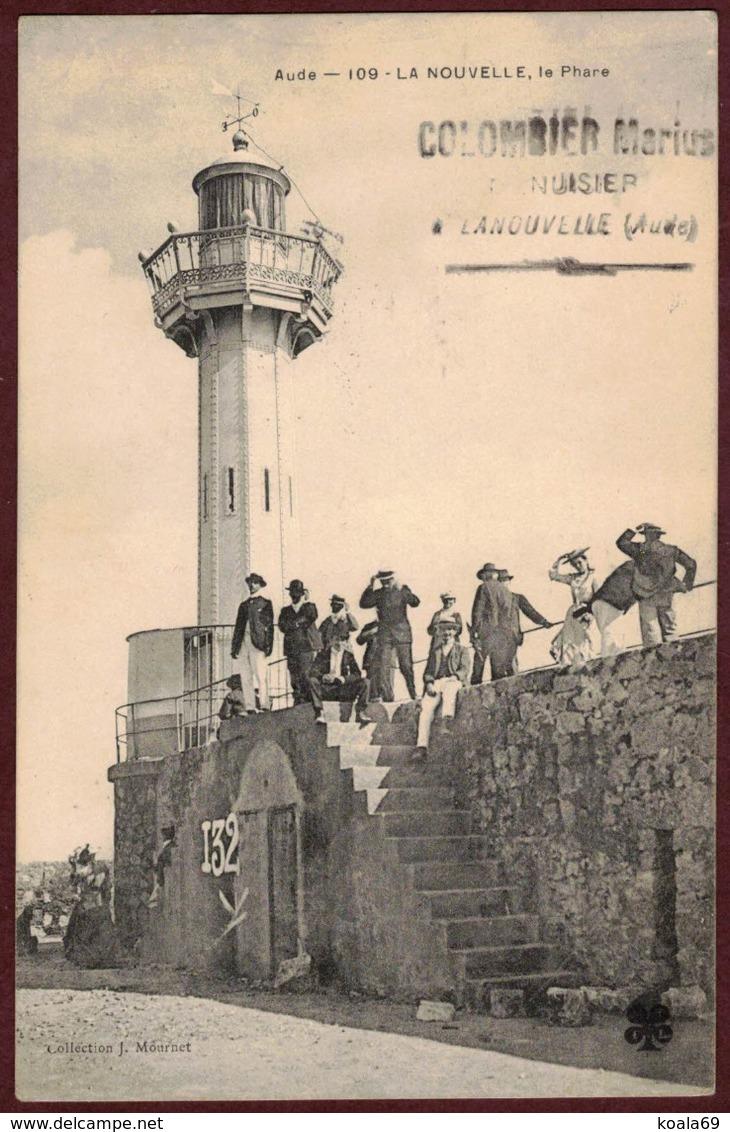 Port La Nouvelle Le Phare Animée - Aude 11210 - Port-la-Nouvelle Arrondissement De Narbonne N° 109 - Port La Nouvelle