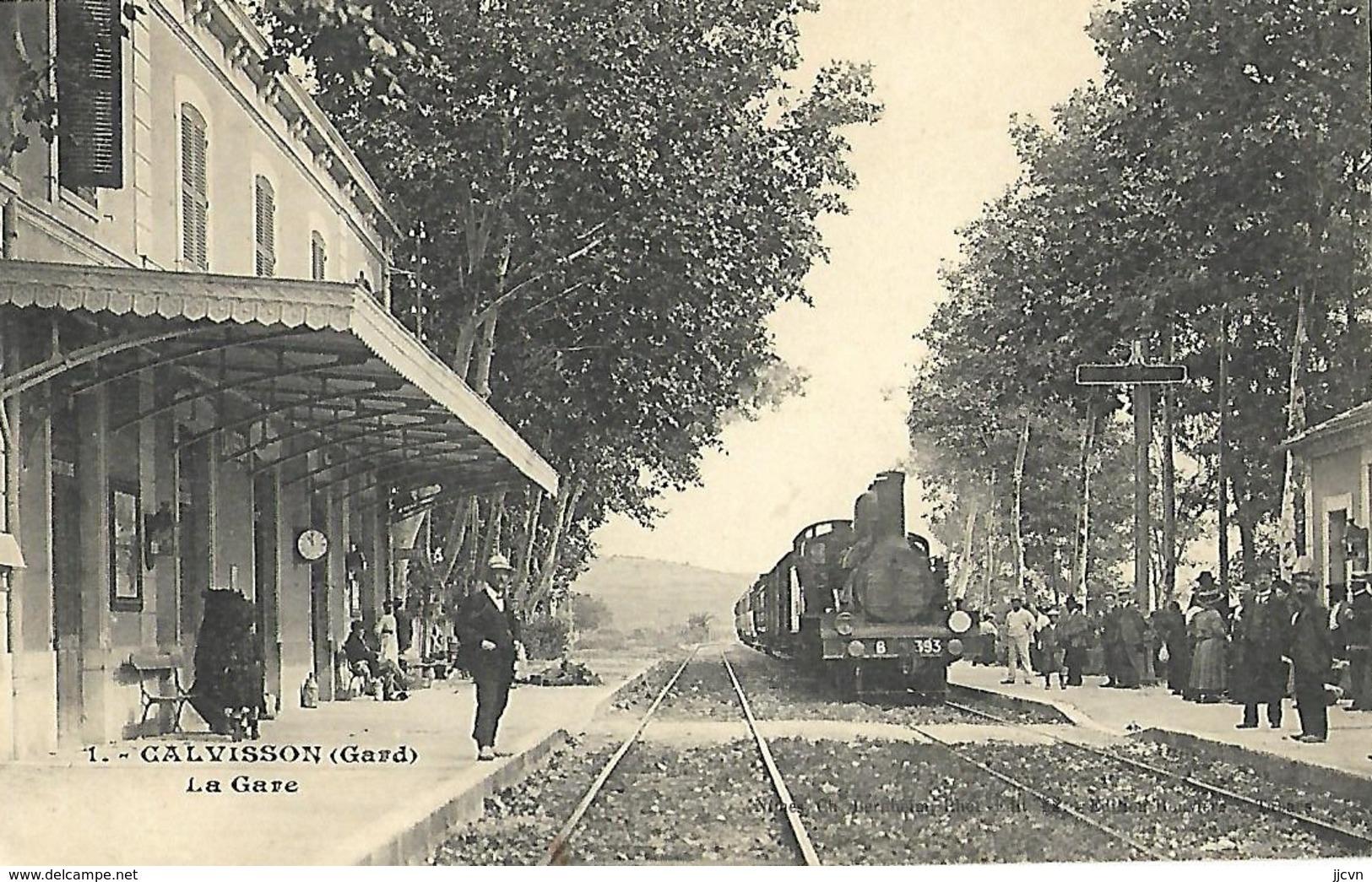 30 - Calvisson - La Gare - Frankrijk