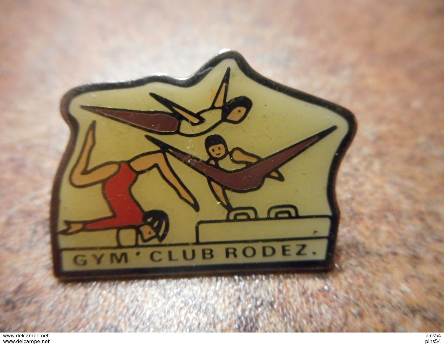 A031 -- Pin's Gym Club Rodez - Gimnasia