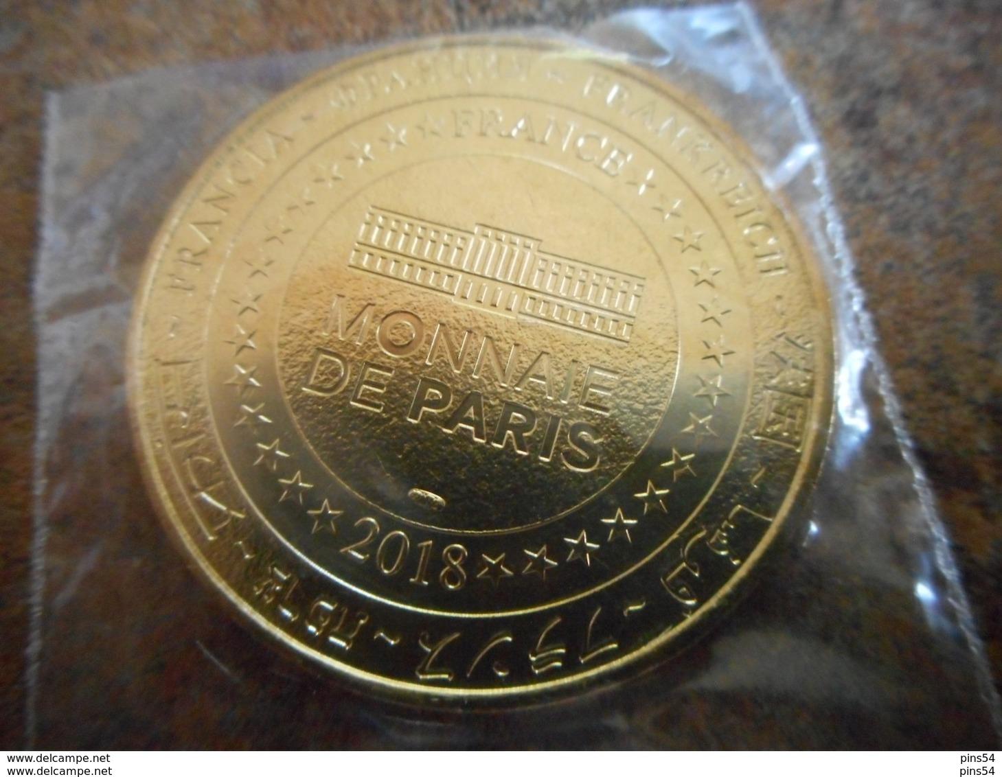 Médaille Chateau Royal De Blois 2018 - Monnaie De Paris