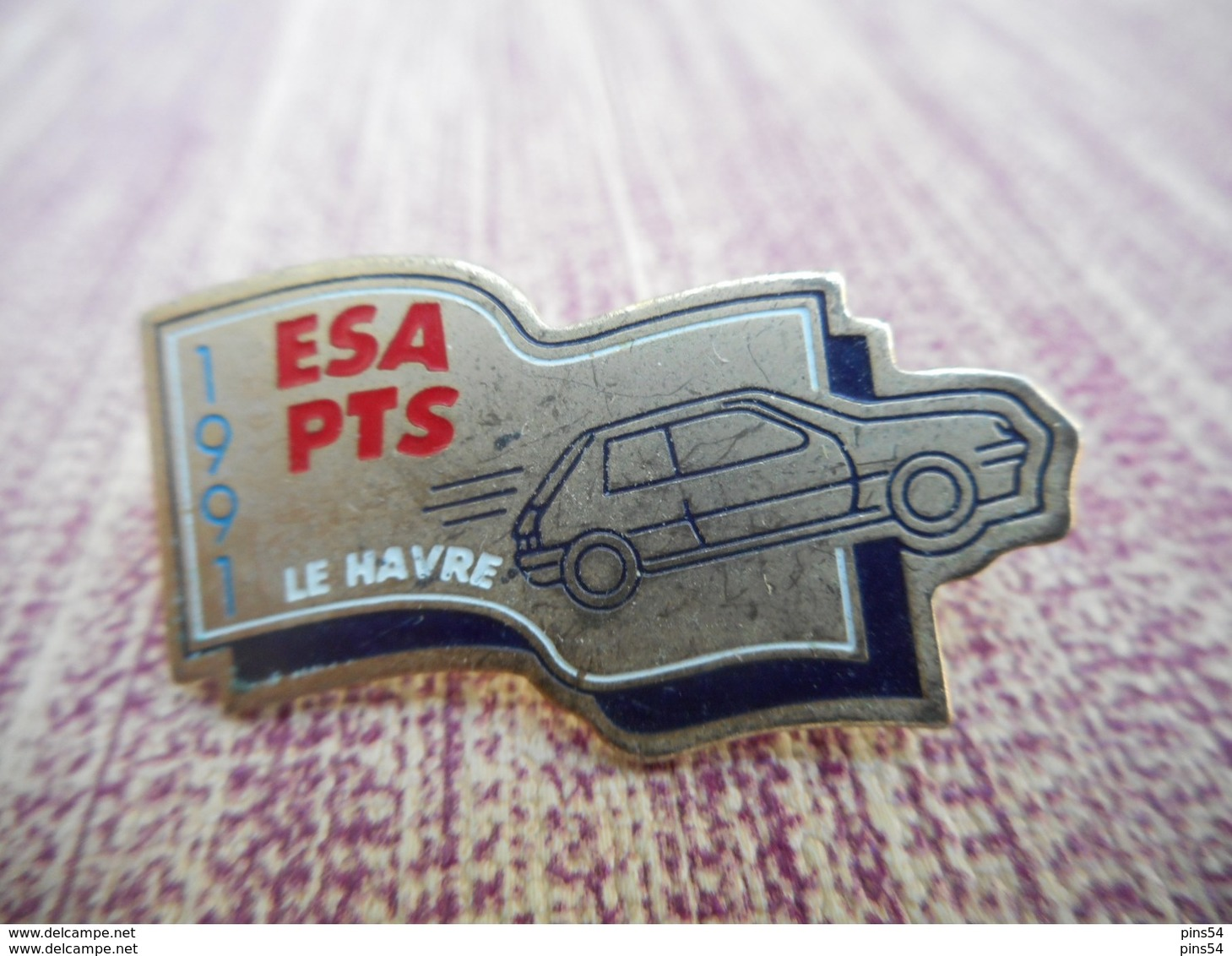 A009 -- Pin's ESA PTS Le Havre 1991 - Andere