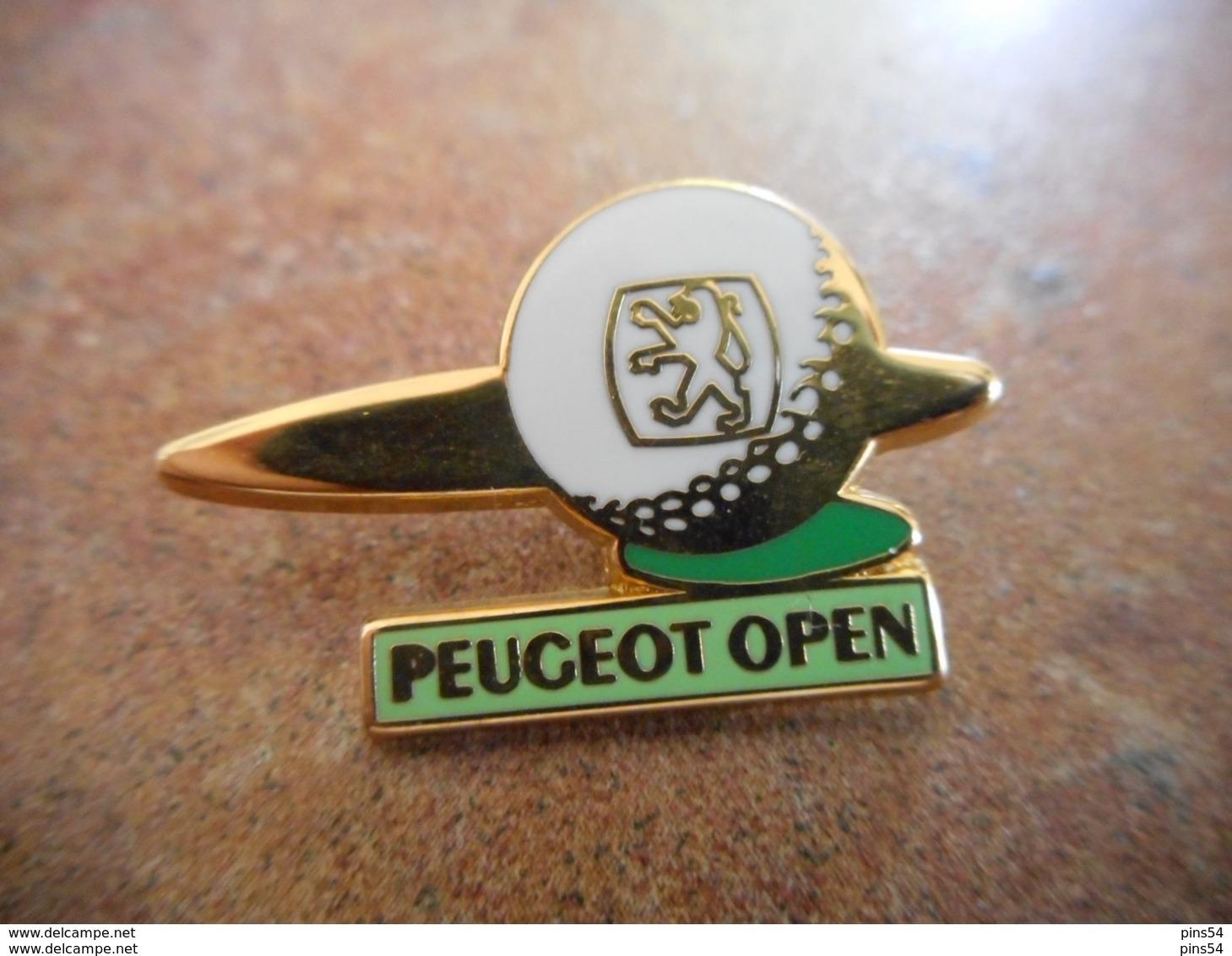 A010 -- Pin's Peugeot Open - Peugeot