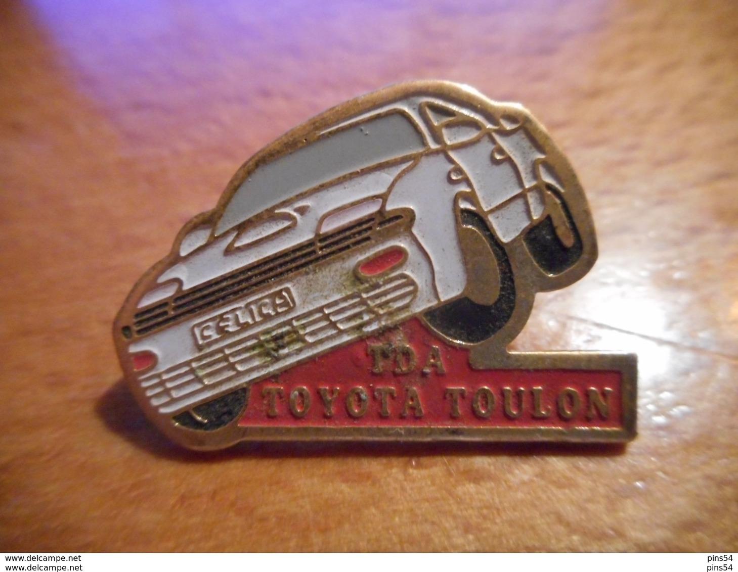 A018 -- Pin's Toyota Toulon - Toyota