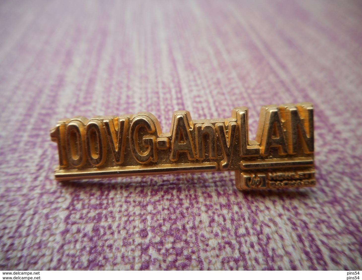 A006 -- Pin's Tosca -- 100VG-AnyLan -- Helwett Packard -- Exclusif Sur Delcampe - Informatique
