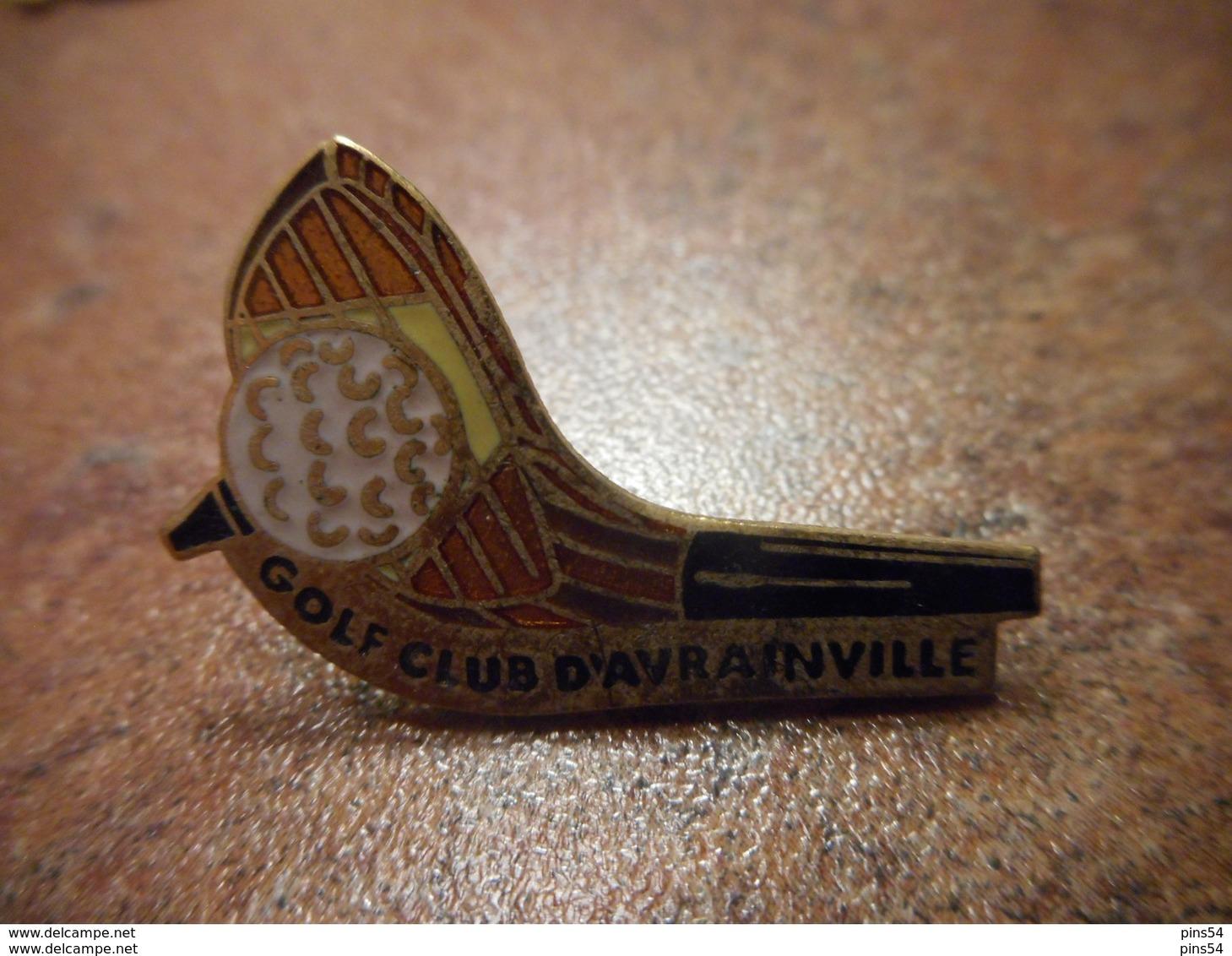 A029 -- Pin's Golf Club D'Avrainville - Golf