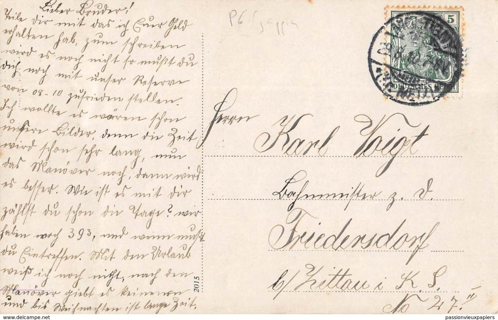CARTE PHOTO  METZ   1913 DAS LUSTIGE KLEEBLATT  (Jul. Eilrich, Sauvage) - Metz