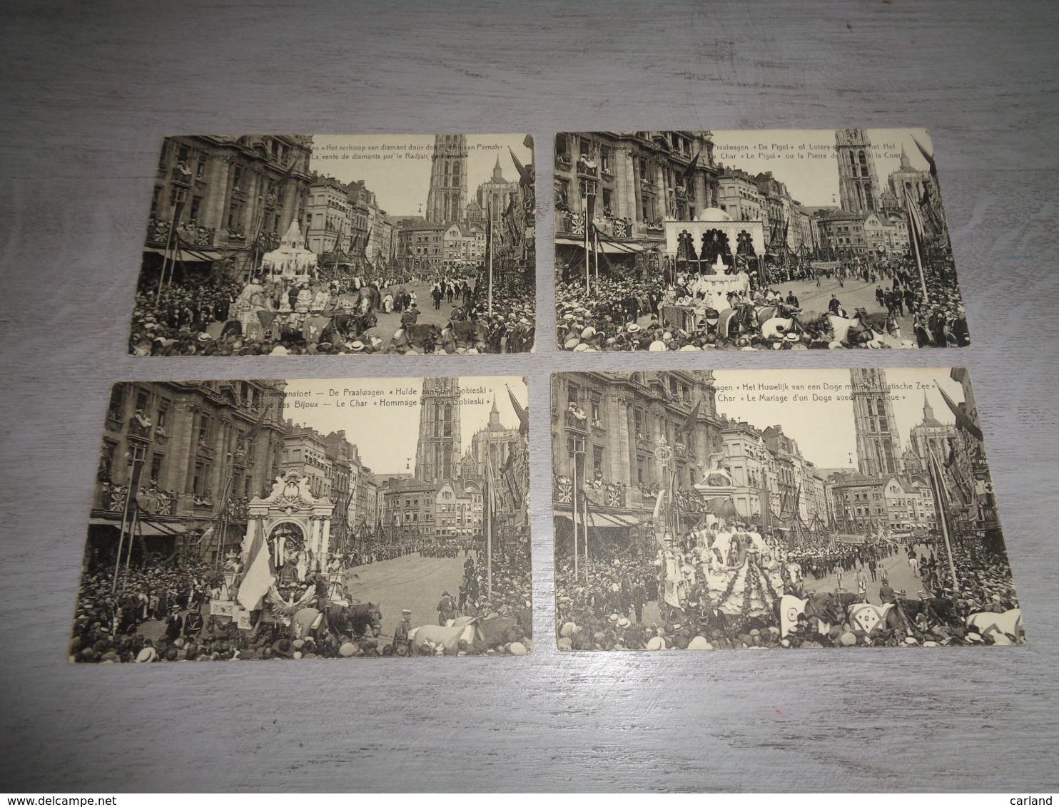 Beau Lot De 20 Cartes Postales De Belgique  Anvers  Mooi Lot Van 20 Postkaarten Van België  Antwerpen Koloniale Feesten - Cartes Postales