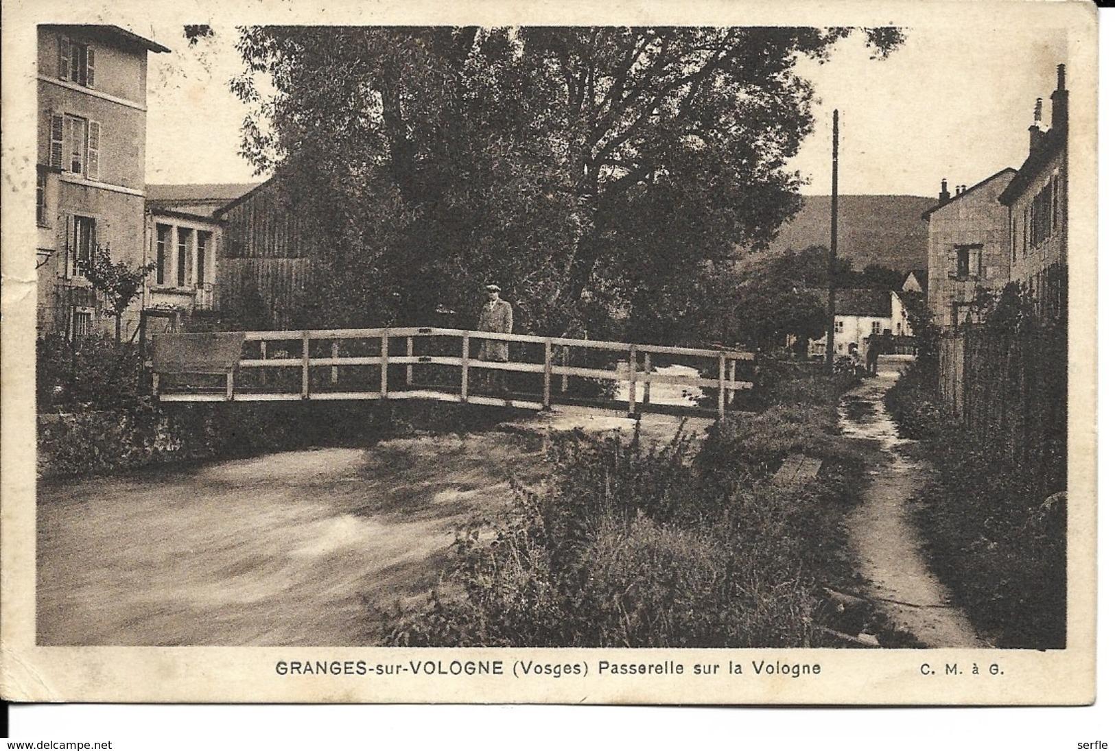 88 - Granges-sur-Vologne - Passerelle Sur La Vologne - Granges Sur Vologne
