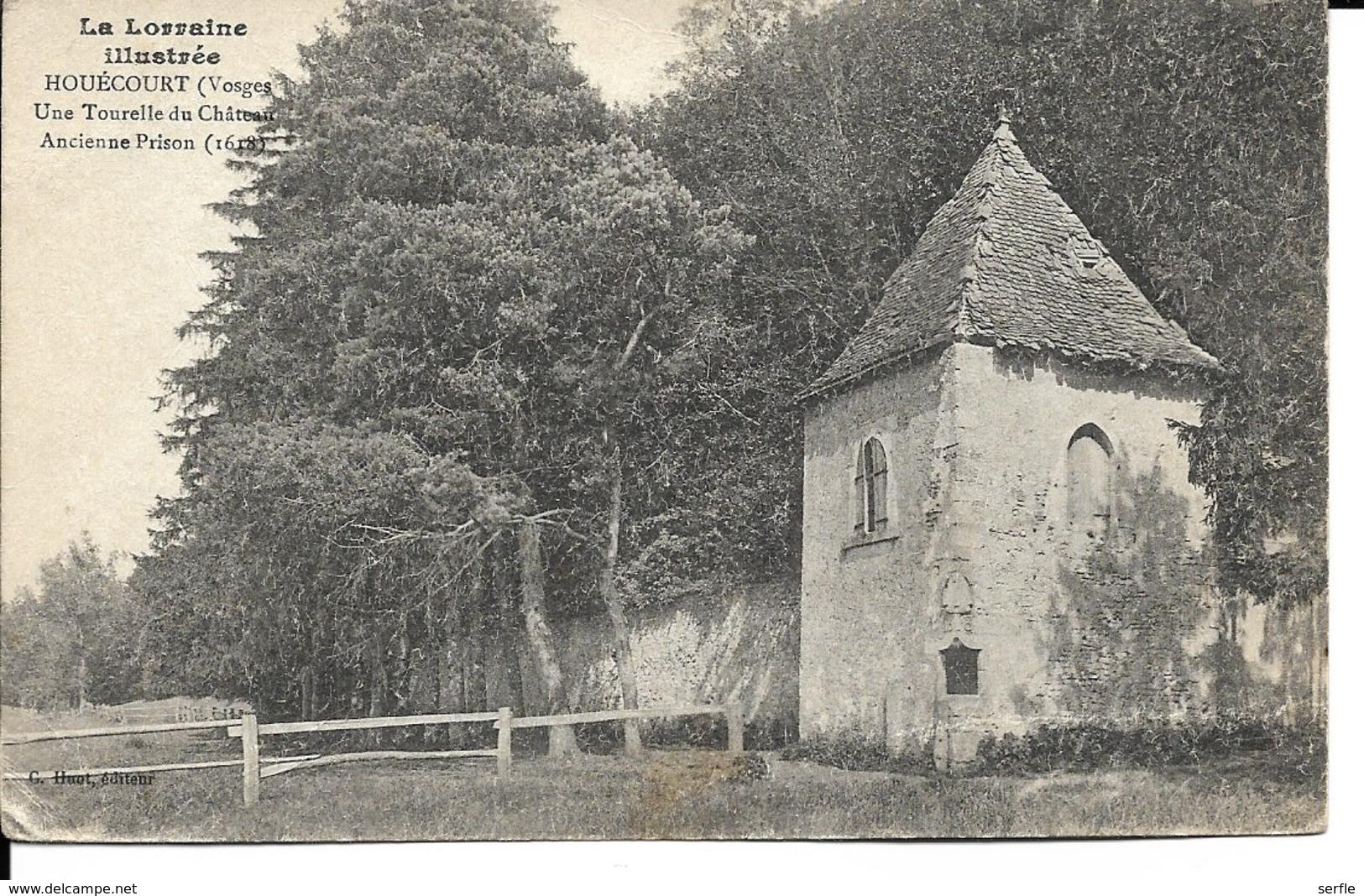 88 - Houécourt - Une Tourelle Du Château - Ancienne Prison (1618) - Frankreich