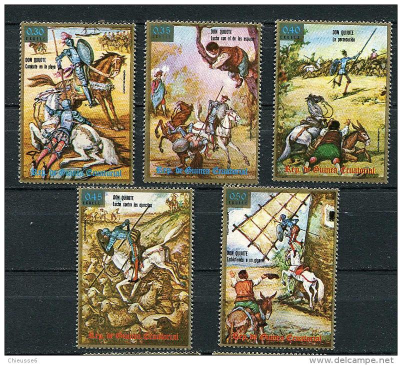 (cl 20 - P22) Guinée Equatoriale ** N° 59 (ref. Michel Au Dos)- Don Quichotte - - Guinée Equatoriale