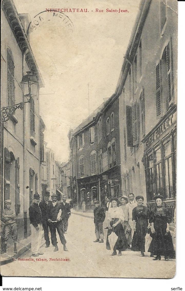 88 - Neufchâteau - Rue Saint-Jean - Neufchateau