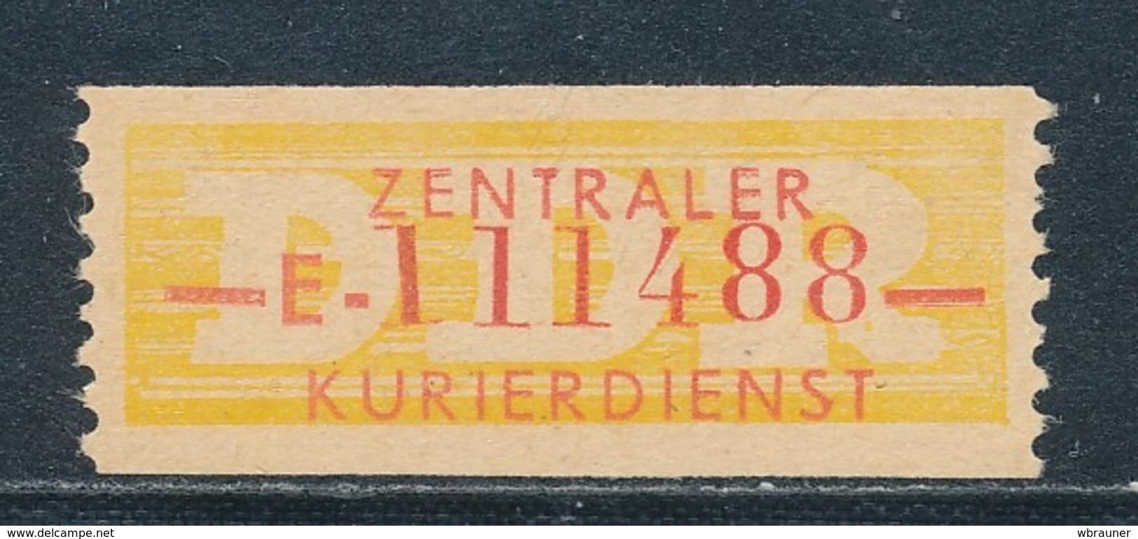 DDR Dienstmarken B 16 Kennbuchstabe E ORIGINAL !! ** Geprüft Weigelt Mi. 500,- - Dienstpost