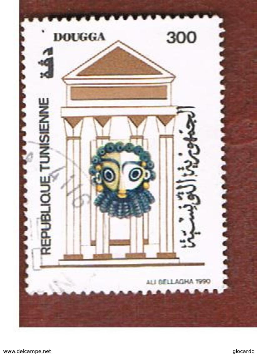 TUNISIA - SG 1195  -    1990 TOURISM: DOUGGA   - USED ° - Tunisia (1956-...)