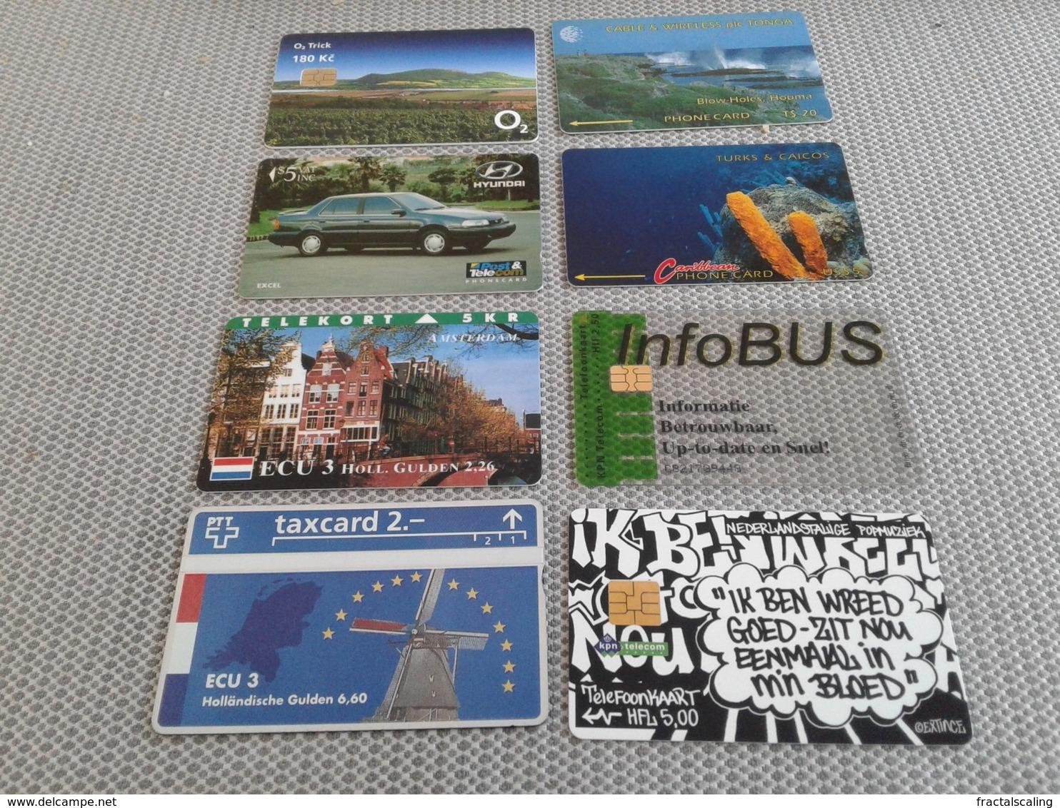 8 Rarer Phonecards At Good Price - Origen Desconocido