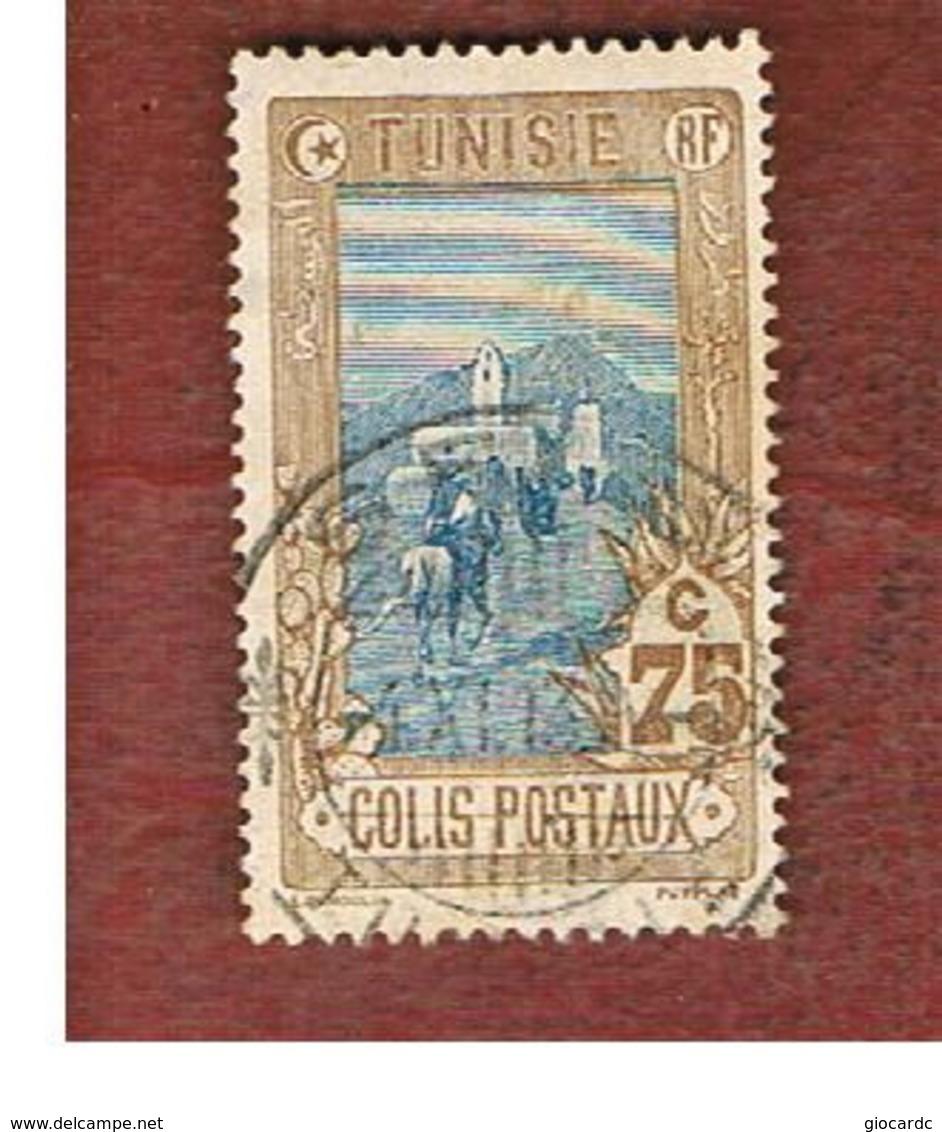 TUNISIA - SG P50 -    1906 PARCEL POST STAMP: POST RIDER  75  - USED ° - Tunisia (1956-...)