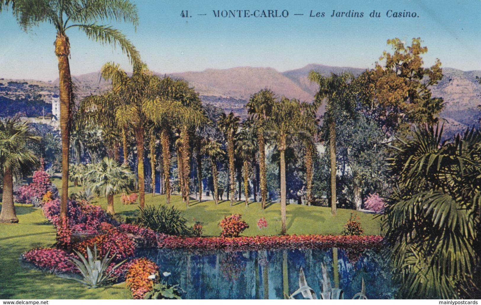 AP73 Monte Carlo, Les Jardins Du Casino - Monte-Carlo
