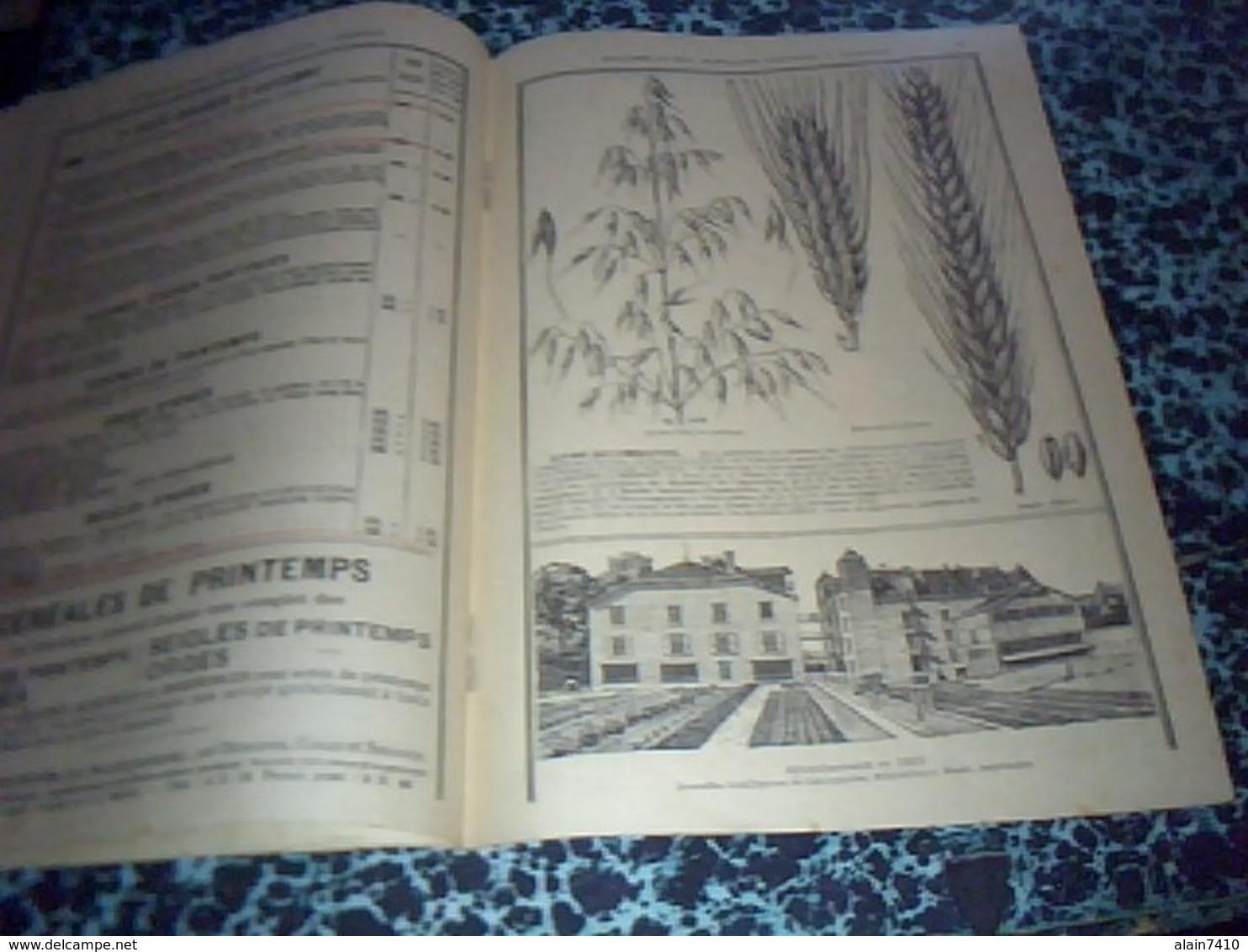 Publicité  Agriculture  Livret De 1925 Prix Courant Des Semences D'automne Benaiffe & Fils à Carignan Ardennes - Pubblicitari