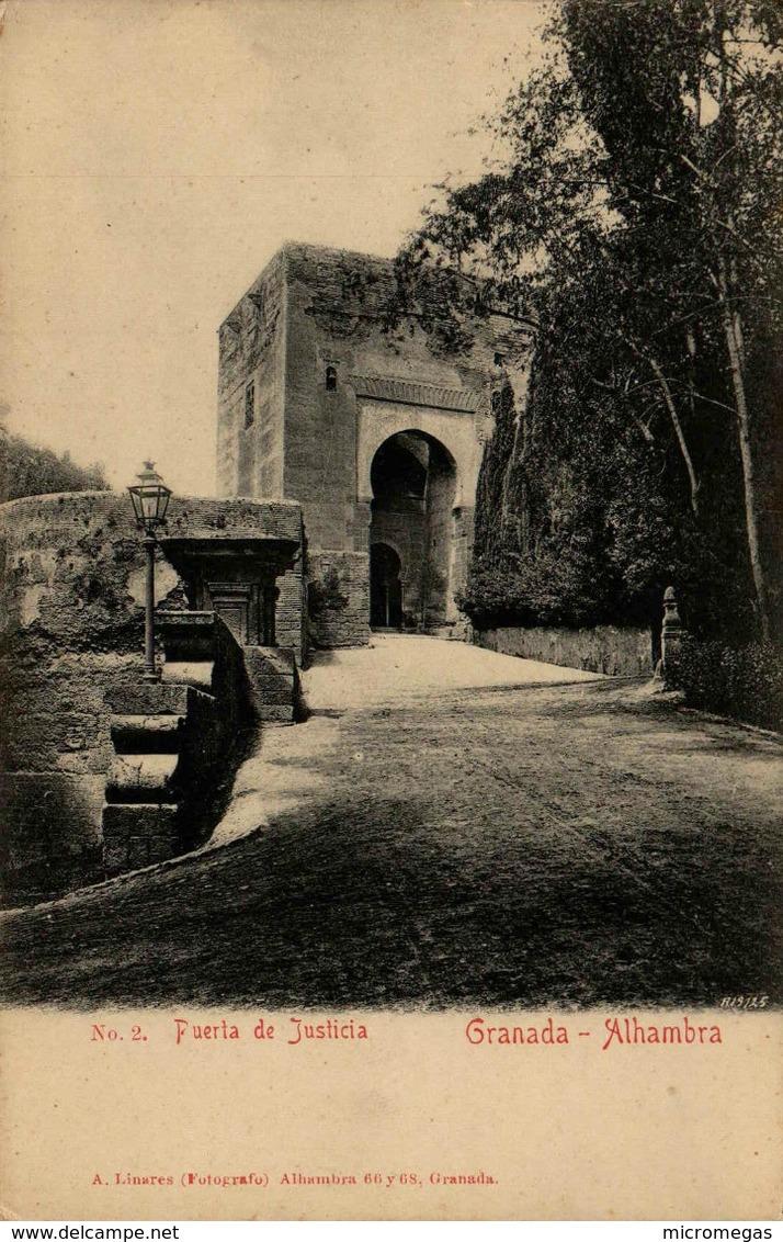 GRANADA - Alhambra - Puerta De Justicia - Granada