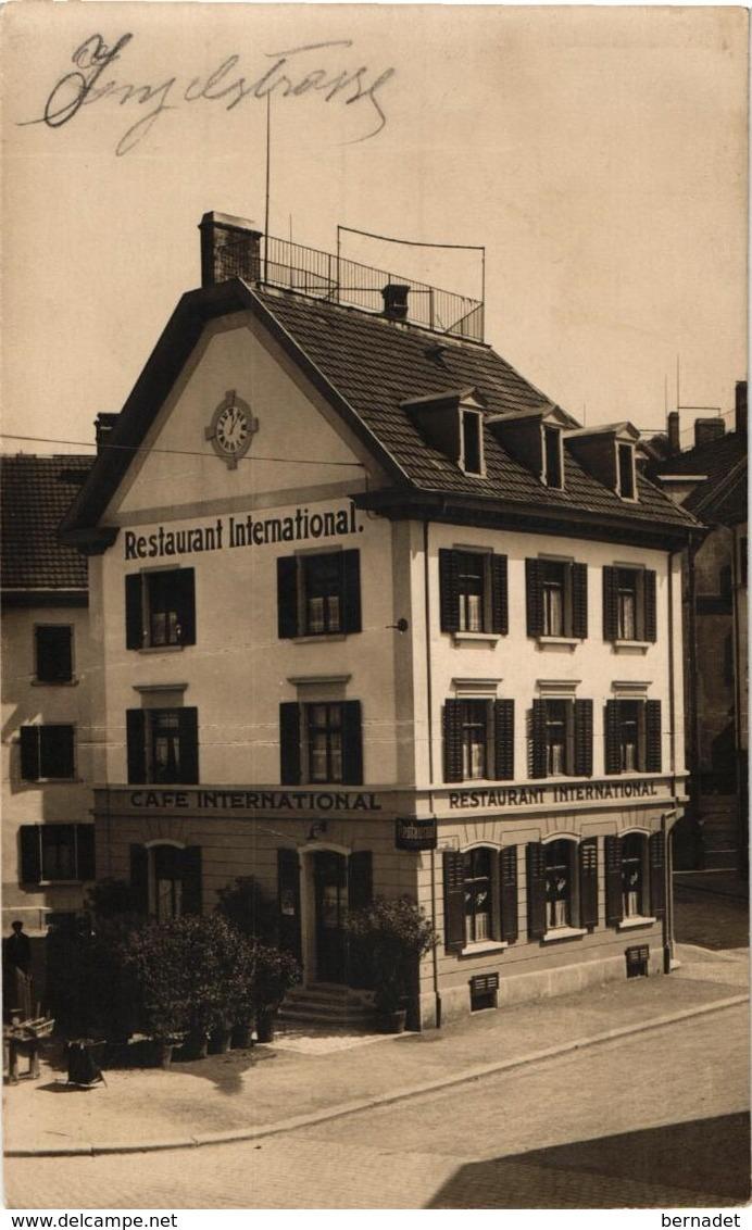 SUISSE .. ZURICH .. CAFE INTERNATIONAL CORTI BADENERSTR. ECKE KORNERSTR. - ZH Zurich