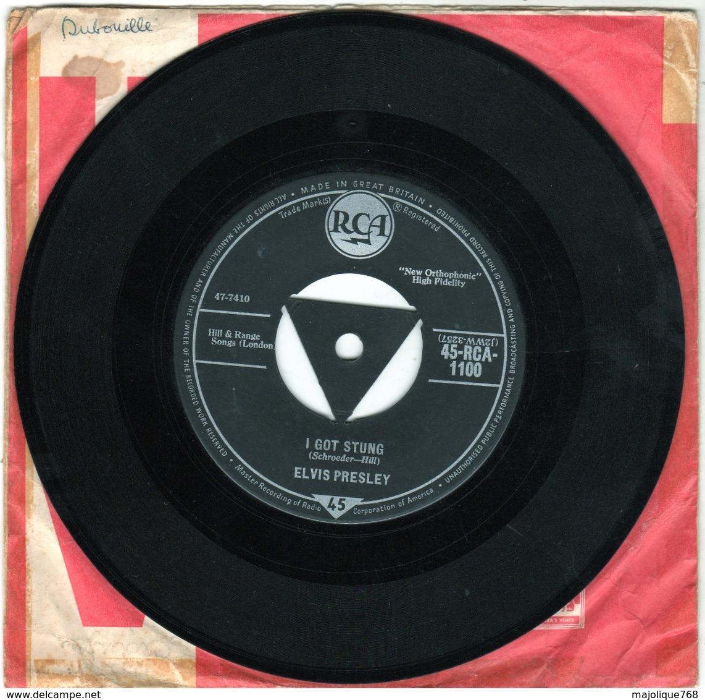 Elvis Presley - On Night - I Got Stung - 45-RCA-1100 - 1959 - - Rock