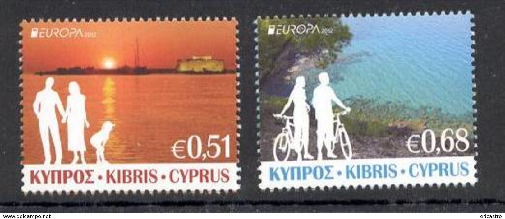 1.- CYPRUS CHYPRE 2012 EUROPA 2012 VISITS EUROPA - 2012