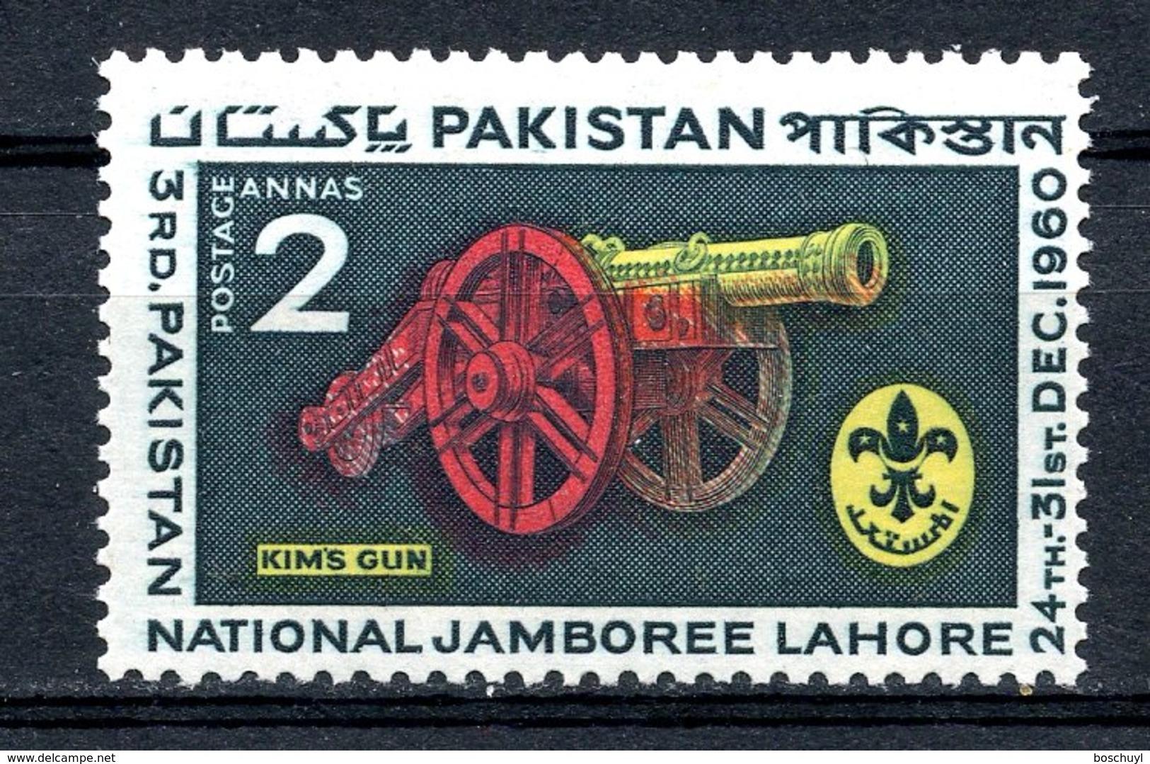Pakistan, 1960, Scouting Jamboree, Scouts, MNH, Michel 121 - Pakistan