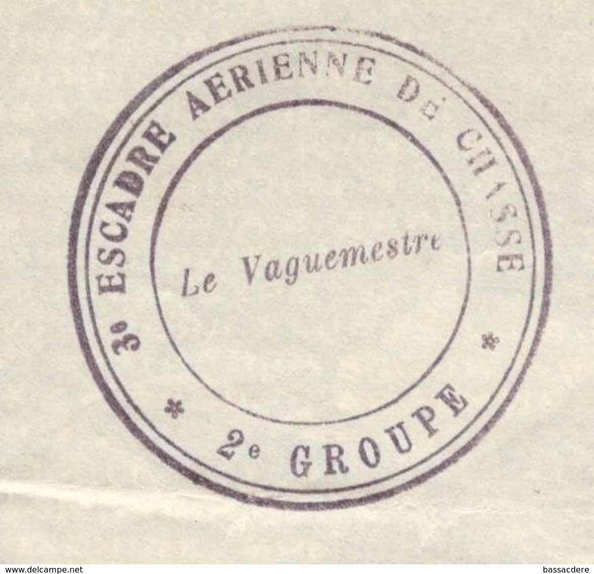 21678 - 3e ESCADRE AERIENNE DE CHASSE - Marcophilie (Lettres)