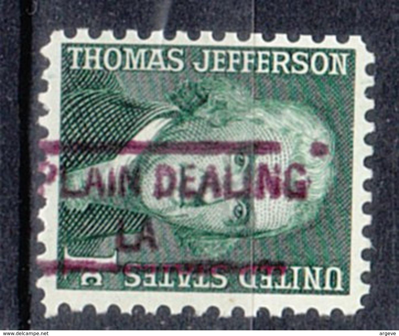 USA Precancel Vorausentwertung Preo, Locals Louisiana, Plain Dealing 841 - Vereinigte Staaten