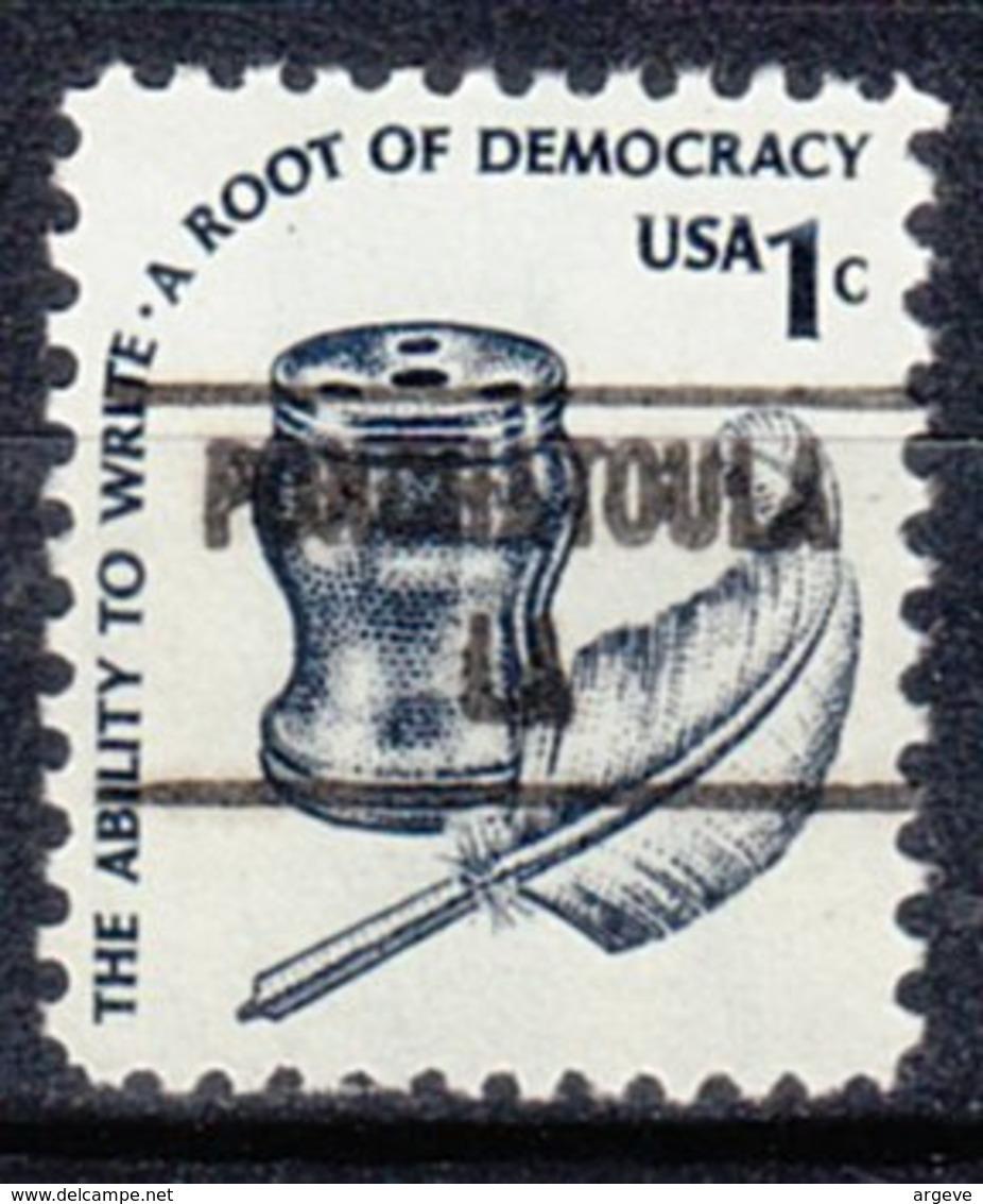 USA Precancel Vorausentwertung Preo, Locals Louisiana, Ponchatoula 853 - Vereinigte Staaten