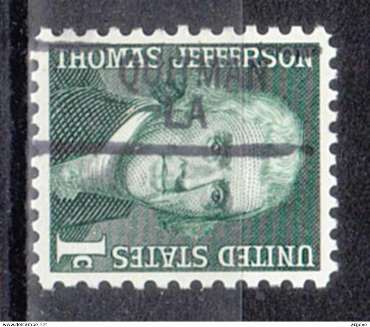 USA Precancel Vorausentwertung Preo, Locals Louisiana, Quitman 841 - Vereinigte Staaten