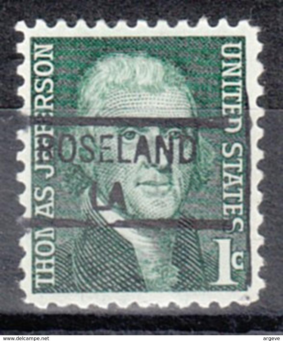 USA Precancel Vorausentwertung Preo, Locals Louisiana, Roseland 841 - Vereinigte Staaten