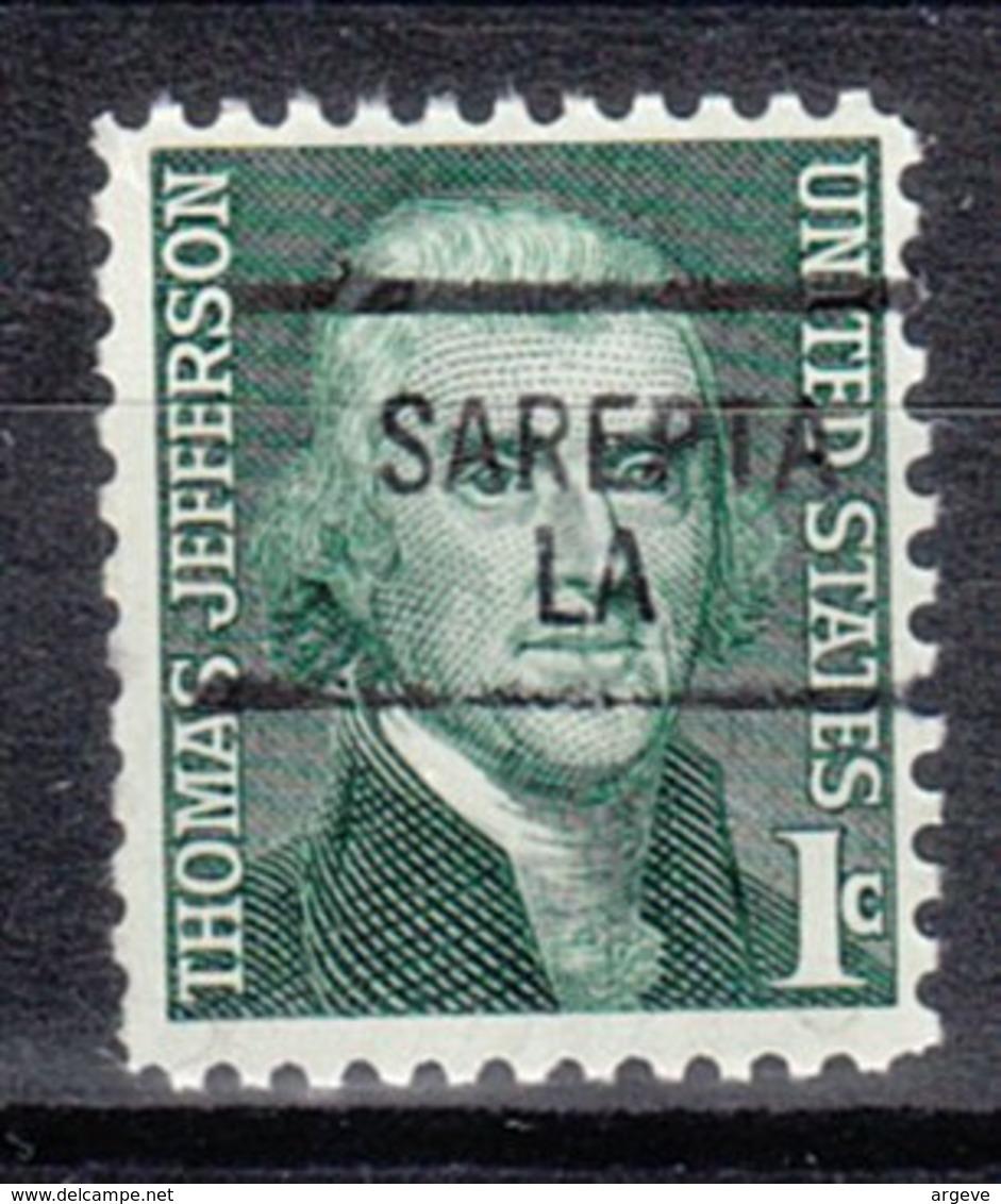 USA Precancel Vorausentwertung Preo, Locals Louisiana, Sarepta 841 - Vereinigte Staaten
