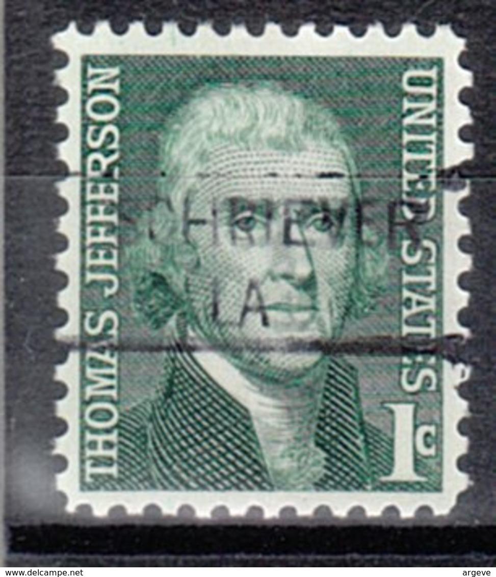 USA Precancel Vorausentwertung Preo, Locals Louisiana, Schriever 841 - Vorausentwertungen