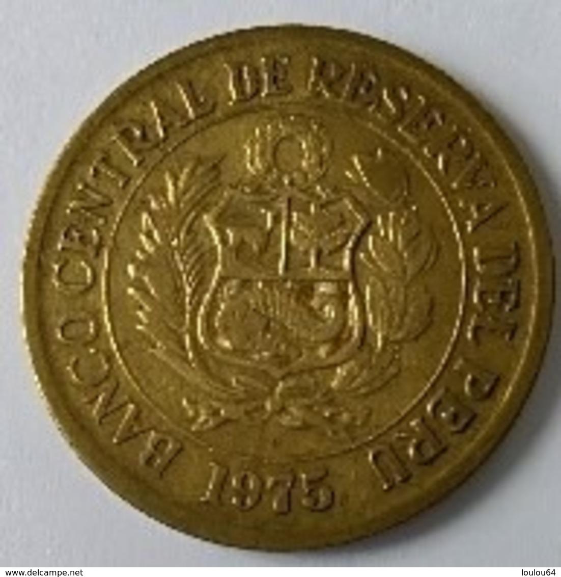 Pérou - 1 Sol De Oro 1975 - - Pérou