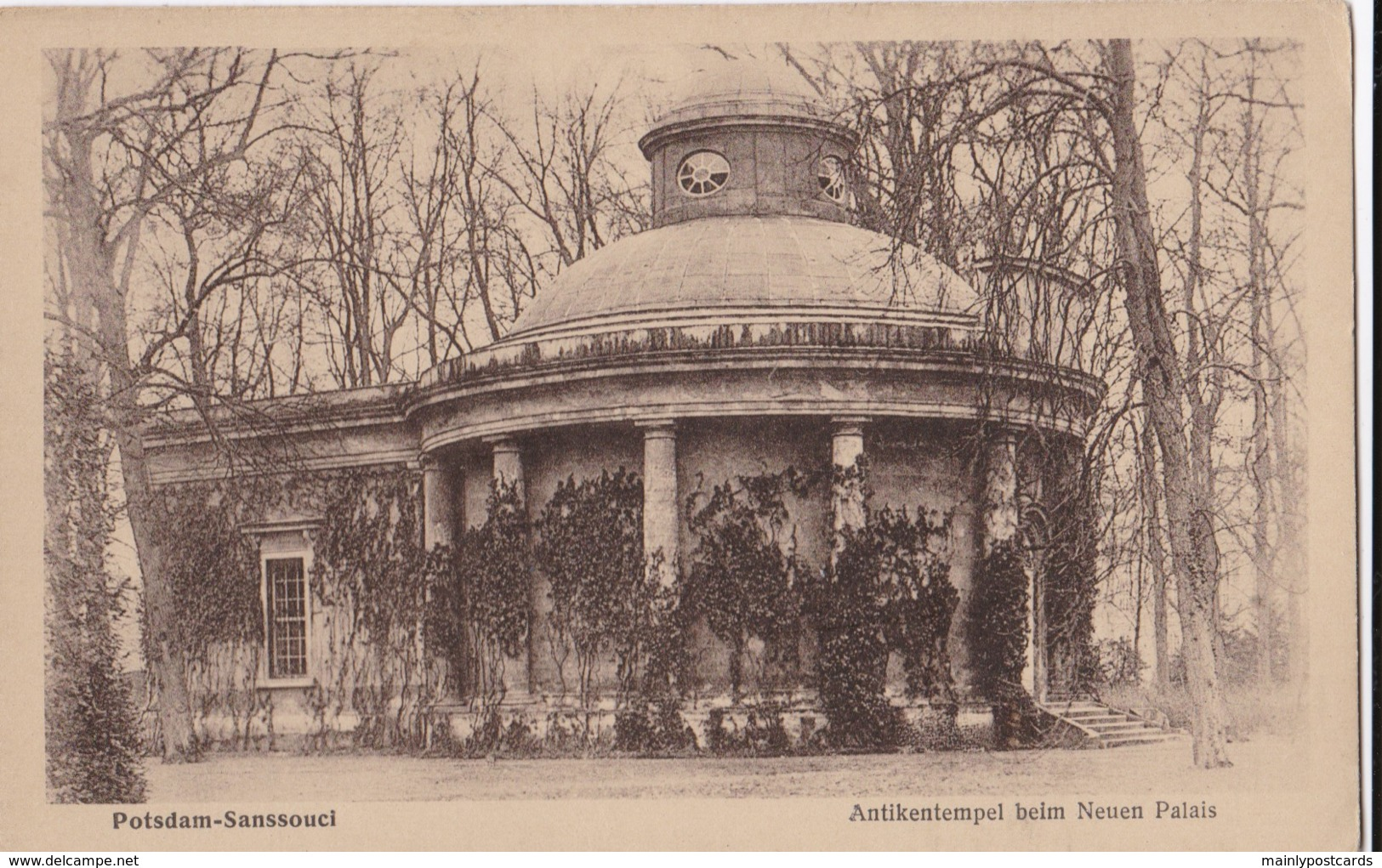AP74 Potsdam, Sanssouci, Antikentempel Beim Neuen Palais - Potsdam